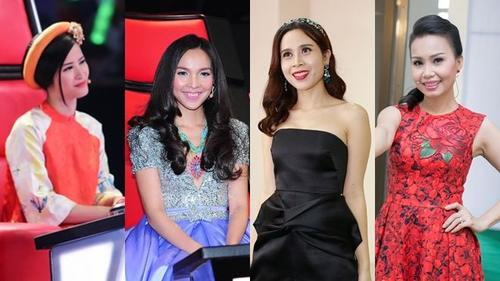 Đọc vị gu thời trang ghế nóng của các giám khảo nữ The Voice Kids