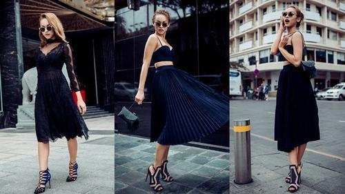 Dừng chân ở The Face, Quỳnh Mai khoe street style cực ngầu trên phố