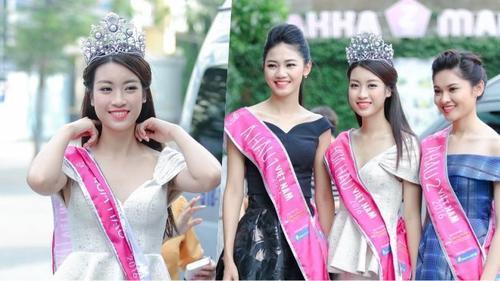 Mặc 'sóng gió' bủa vây, Hoa hậu Mỹ Linh vẫn xuất hiện rạng rỡ