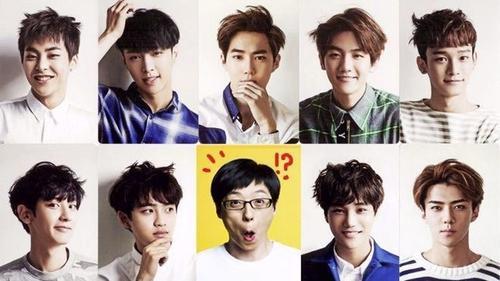 'Thánh quẩy' Running Man Yoo Jae Suk sẽ 'gia nhập' EXO!