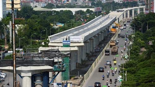 Toàn cảnh tuyến metro Nhổn - Ga Hà Nội xây dựng 10 năm chưa xong