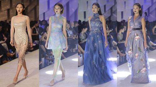 Hậu The Face, thầy trò Lan Khuê tái hợp 'cân' cả sàn diễn Elle show trong thiết kế Tuấn Trần