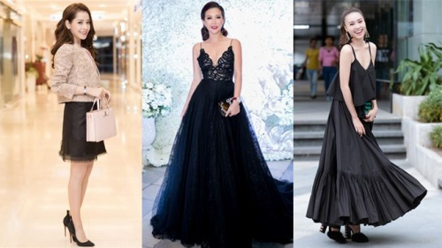 Chi Pu, Ninh Dương Lan Ngọc, Thu Hoài  và 'cuộc chiến' váy áo tuần qua