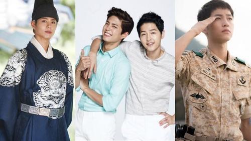 Park Bo Gum – Song Joong Ki: Đôi bạn thân 'sáng nhất năm