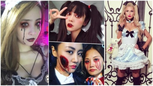 Sao Việt và sao quốc tế hoá trang độc đáo tưng bừng đón Halloween