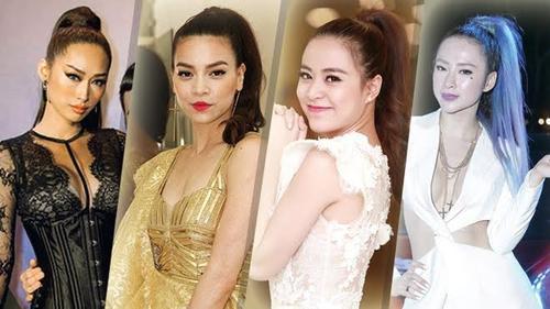 Các mỹ nhân Việt biến hóa như thế nào chỉ với kiểu tóc đuôi ngựa mạnh mẽ?