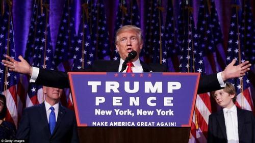 Cơn 'địa chấn' cảm xúc từ chiến thắng cực sốc của Donald Trump