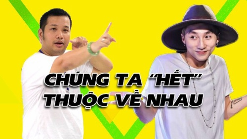 Ảnh chế: Sơn Tùng - Quang Huy đã đến lúc 'chúng ta 'hết' thuộc về nhau'