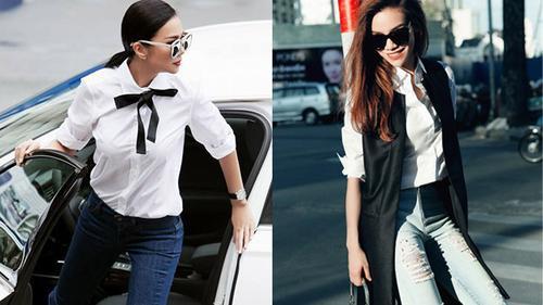 Thanh Hằng và Hà Hồ: Ai mới là mỹ nhân diện sơmi trắng đẹp nhất?