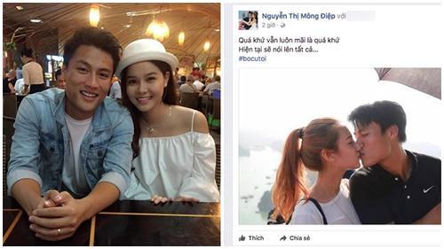Kỳ Hân đăng ảnh Mạc Hồng Quân hôn tình cũ Emmy Nguyễn: Quá khứ mãi là quá khứ!