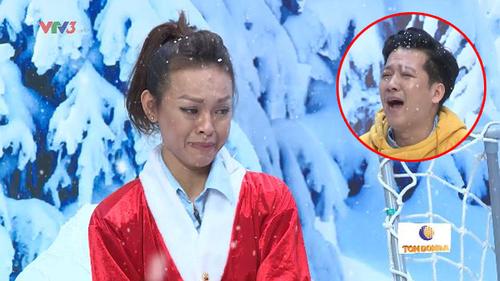 Bị Trường Giang vu oan, Mai Ngô bật khóc nức nở ngay trên sóng truyền hình