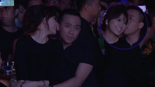Clip: HariWon và Trấn Thành tình tứ, ôm ấp nhau không rời trong một đêm nhạc cùng giới nghệ sĩ showbiz Việt