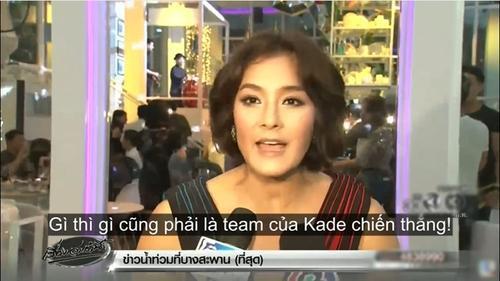 Lukkade Metinee: '#TeamKade nhất định sẽ chiến thắng The Face Thái Lan mùa 3'