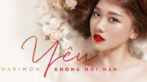 Đã biết lý do vì sao Hari Won chưa thể ra mắt MV 'Yêu không hối hận'!
