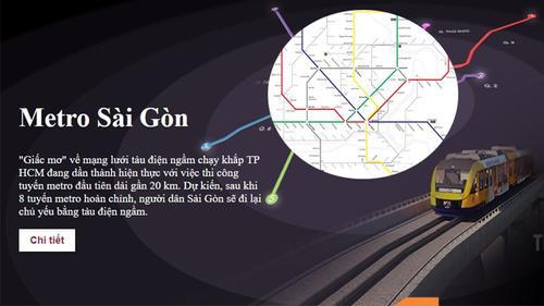 Hé lộ bản đồ chi tiết 6 tuyến Metro Sài Gòn khiến nhiều người thích thú