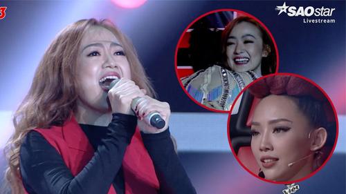 HOT: Cô nàng thành viên của nhóm Mắt Ngọc bất ngờ xuất hiện dự thi tại Giọng hát Việt, làm 'nổ tung' sân khấu với hit 'Keep me in love'