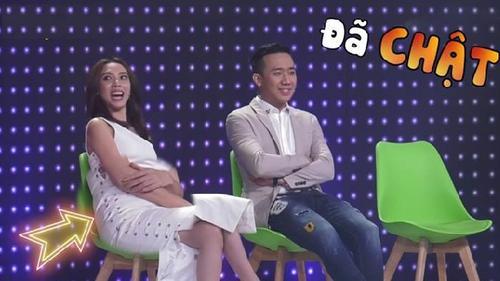 Trường Giang, Trấn Thành phản ứng kịch liệt khi Thu Minh nhắc đến nhan sắc Thu Trang