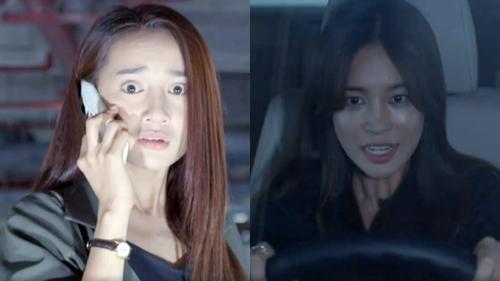 Cynthia gần như điên loạn, phóng xe đe dọa tính mạng của Linh trong tập mới
