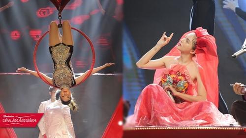 Bảo Thy sẽ diễn xiếc nhào lộn - Hương Giang 'lên đồng' trên sân khấu Chung kết Remix New Generation