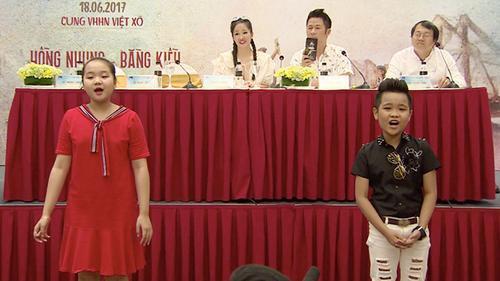 Bằng Kiều, Hồng Nhung bất ngờ trước giọng hát cao vút của Quán quân Nhật Minh