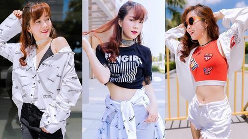 Đinh Hương tung bộ ảnh street style đầy năng động đón đầu thời trang mùa Hè