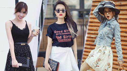 Cùng 3 cô nàng xinh đẹp này học cách diện đồ cho mùa Hè cực cool mà vẫn đầy tinh tế nhé!