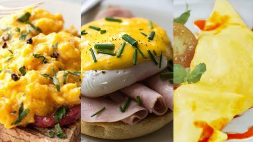Học những đầu bếp nổi tiếng cách làm món trứng đơn giản nhưng vẫn vô cùng tinh tế
