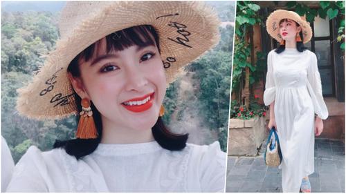 Angela Phương Trinh đón đầu xu hướng hè với khuyên tai tua rua siêu đáng yêu