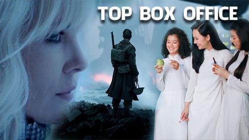 'Dunkirk' và 'Cô gái đến từ hôm qua' tiếp tục dẫn đầu doanh thu tại Mỹ và Việt Nam