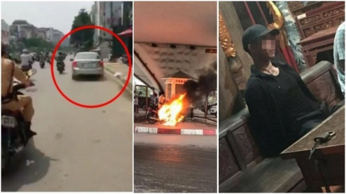 Hot nhất tuần: Người dân hỗ trợ CSGT truy đuổi ôtô như phim hành động, người lái đốt rụi xe sau khi bị bắt