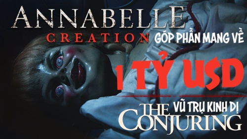 'Annabelle: Creation' góp phần giúp Vũ trụ kinh dị The Conjuring đạt 1 tỷ USD
