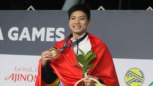 Hành trình giành HCV SEA Games như cổ tích của kình ngư 15 tuổi Kim Sơn