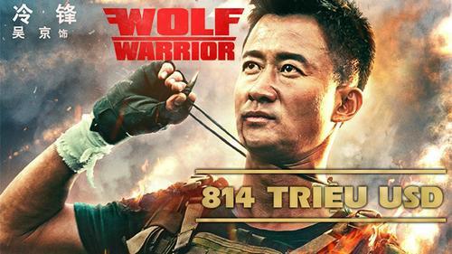 Chỉ cần chiếu ở Trung Quốc, 'Wolf Warrior 2' đã thu về hơn 800 triệu USD trong 1 tháng