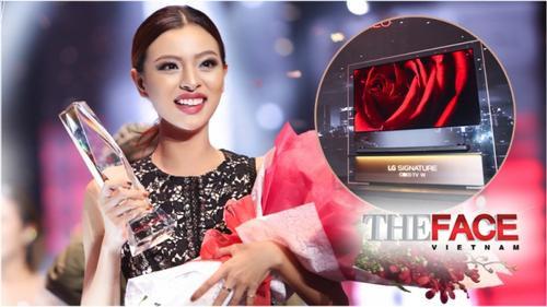 Tại sao chiếc TV Tú Hảo nhận được trong đêm Chung kết The Face lại có giá lên đến 300 triệu?