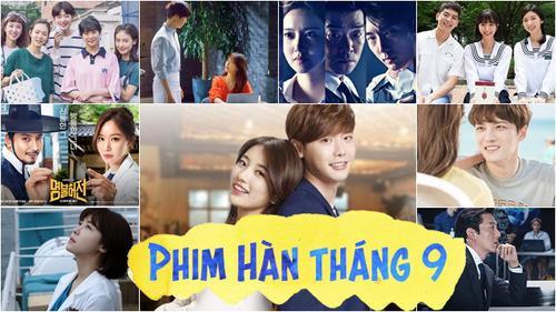 Phim truyền hình Hàn Quốc tháng 9: Lee Jong Suk, Ha Ji Won, Suzy đang chờ bạn