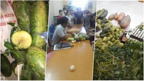 Vĩnh Phúc: Phụ huynh chặn đứng xe chở rau củ thối rữa vào trường tiểu học nấu cho học sinh ăn