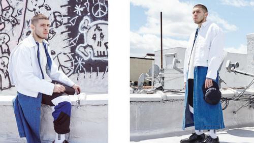 Nhà thiết kế Willy Chavarria tung bộ sưu tập Thu Đông mang đầy tinh thần Mỹ