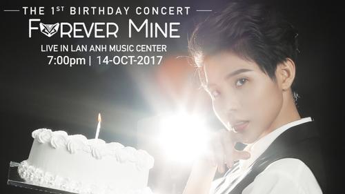 Vũ Cát Tường chính thức mở trang bán vé cho Birthday Concert đầu tiên sự nghiệp