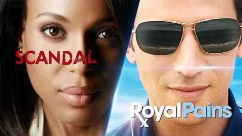 2 series phim tâm lý 'Scandal' và 'Royal Pains' nối gót trở lại với mùa cuối