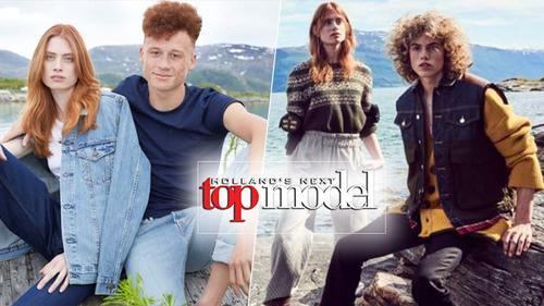 Cạn kiệt ý tưởng, Next Top Model Hà Lan quẩn quanh chụp ảnh hết bờ hồ đến mép biển