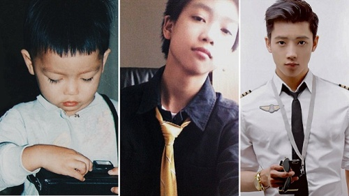 Xem ảnh 'thời xa xưa' của hot boy Việt để biết ai là người đẹp trai từ nhỏ