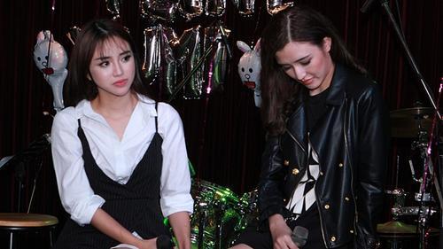 Sau rạn nứt ở The Face, Thiên Nga xúc động khi nói về tình bạn với Phương Chi