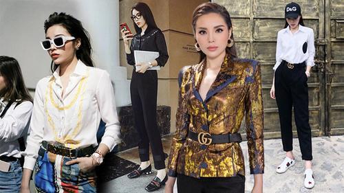 Xin giới thiệu biểu tượng menswear mới của showbiz Việt: Hoa hậu Kỳ Duyên!