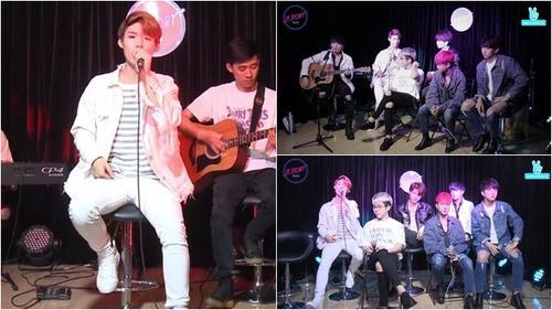 Uni5 đổ bộ MStory, hát live ca khúc mới và cực chất khi cover hit BTS