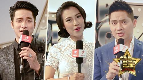 MC Hoàng Oanh, diễn viên Minh Luân, Mạnh Đồng nói gì khi hát ở Cặp đôi hoàn hảo?