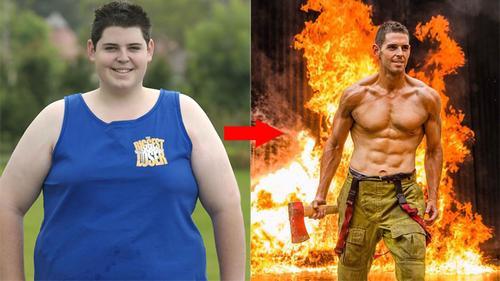 Bị bạn gái 'phũ' vì quá béo, chàng trai lột xác thành 6 múi vạn người mê