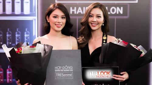 Thật bất ngờ: Phương Linh nhận được hợp đồng đại diện nhãn hàng 'y hệt' Vũ Ngọc Châm
