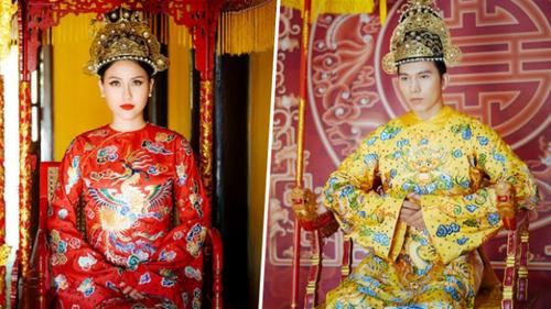 Nam vương Ngọc Tình đầy uy phong trong bộ ảnh tái hiện cung đình Việt