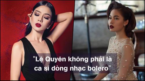 Giang Hồng Ngọc đồng tình danh ca Phương Dung: Lệ Quyên không phải ca sĩ dòng bolero