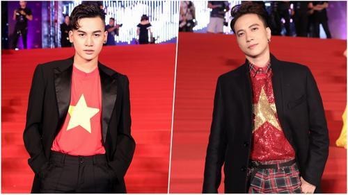 Cùng diện áo cờ đỏ sao vàng, S.T - Ali Hoàng Dương 'nổi bần bật', chiếm trọn sự chú ý